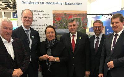 Stiftung auf der Grünen Wochen: Besuch von Heinen-Esser